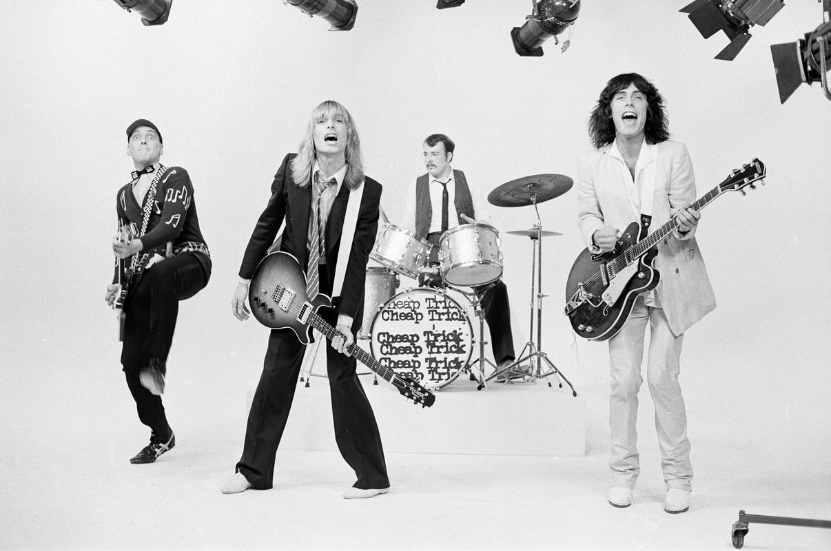 Cheap Trick. Gold Mine Magazine