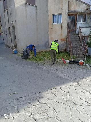 Kαθαρισμοί του χωρίου μας