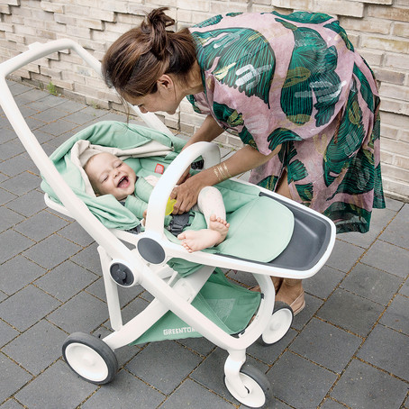 Pushing for change. The circular  baby stroller taking on the world.