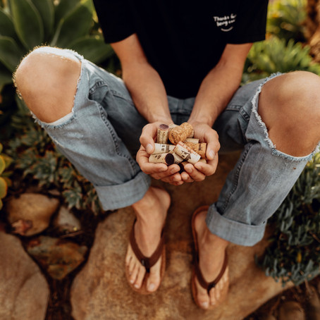 From chardonnay to shoes. The brand giving new life to used wine corks.