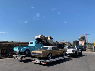 Trucks sind eingetroffen