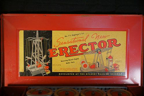 No. 7.5 Engineer's Erector Set