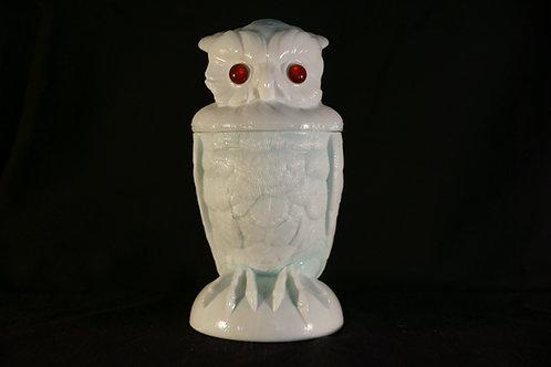 Owl Tobacco Jar