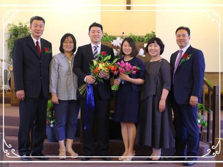 김지성 목사 안수식