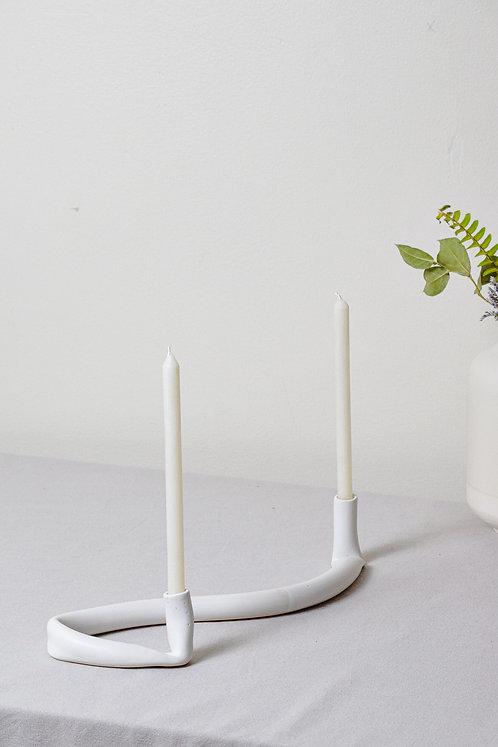 cursive candles - large