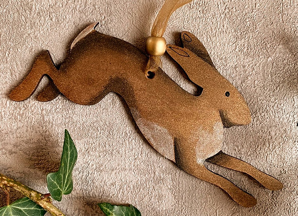 Hare hanging decoration