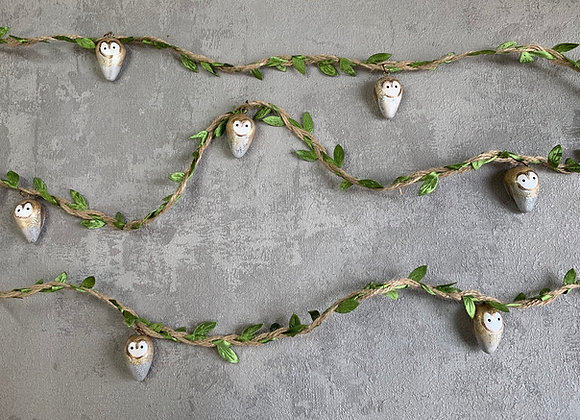 MADE TO ORDER - Barn Owl Garland