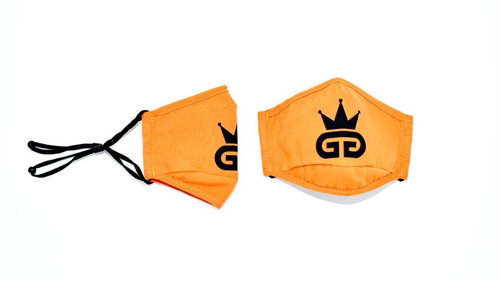 GGT Royal Orange  PM2.5 Filter Face Mask