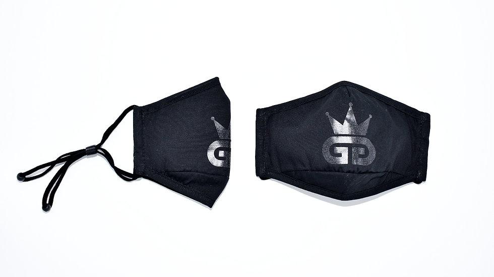 GGT Noir PM2.5 Filter Face Mask
