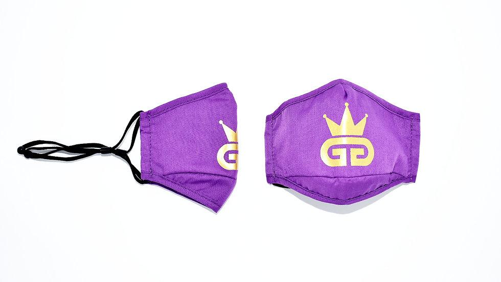 GGT Purple Rain PM2.5 Filter Face Mask
