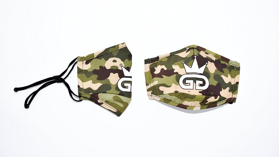GGT Desert Storm  Camo  PM2.5 Filter Face Mask