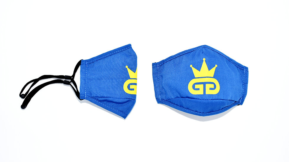 GGT Egyptian Blue PM2.5 Filter Face Mask