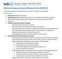 Worksite Exposure Control Measures for C