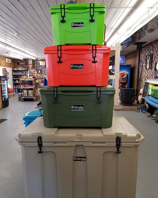 🔥Grizzly Coolers🔥 back in stock! We ha