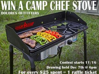 Win a Camp Chef Stove!