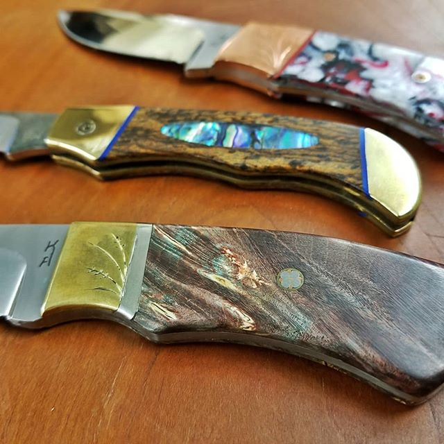 One of a kind handmade knives that are b