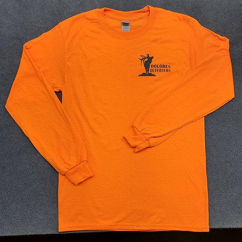 Outfitters Elk Orange Long Sleeve