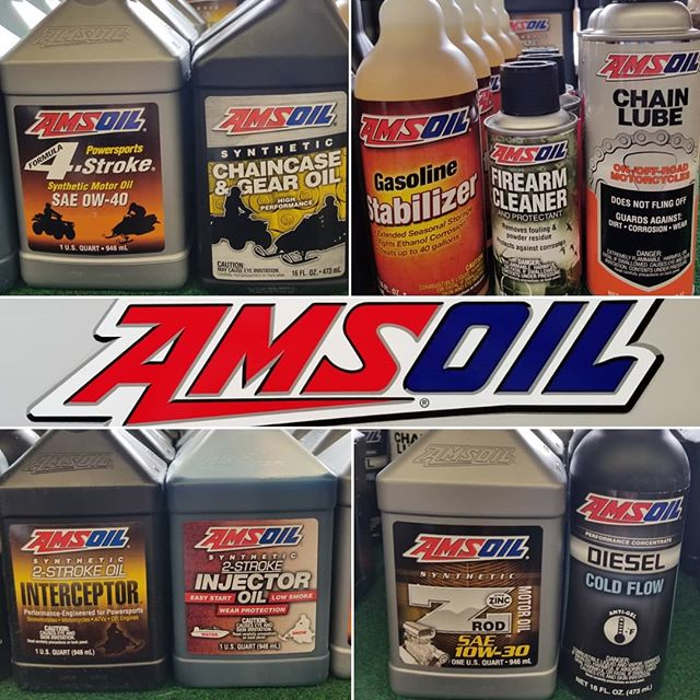 Amsoil products have been restocked! ✅ 2