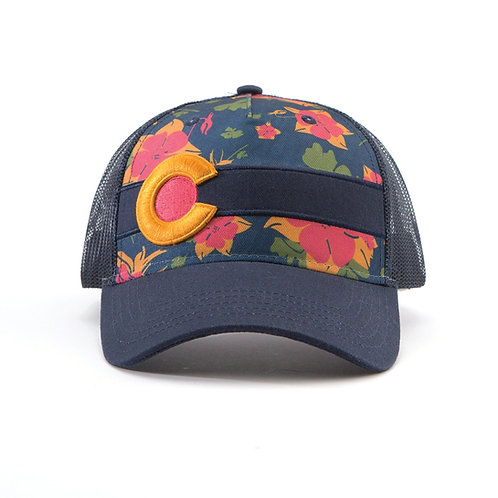 Sunset Columbine Hat