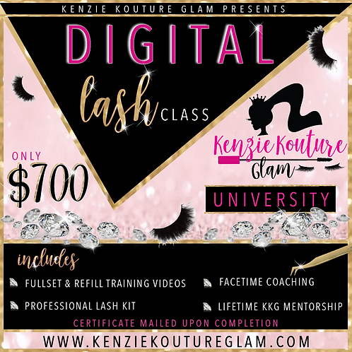 Digital Lash Certification Course