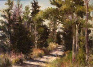 Pastel painting by Florida artist Carolyn land