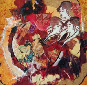 Collage by FL artist Carolyn Land