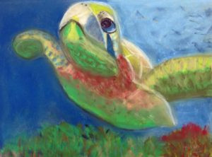 pastel painting by Peg Rogerson