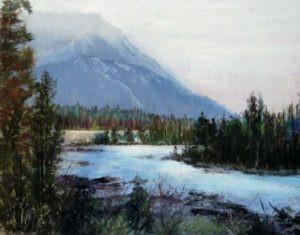 Pastel painting by Carolyn land