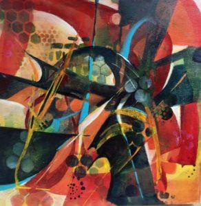 Acrylic Painting by FL artist Carolyn Land