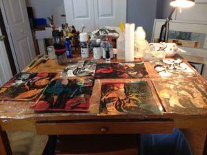 studio FL artist Carolyn Land