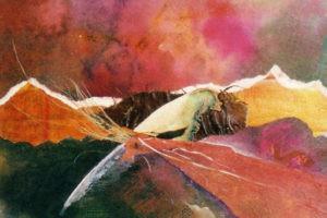 Mixed media Painting by FL Carolyn Land