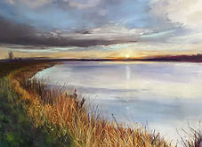 Carolyn-Land-Silence-of-Morn-pastel-over