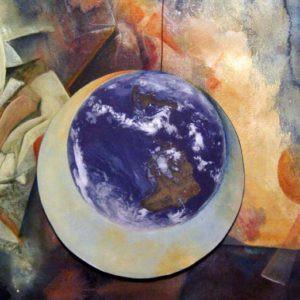 Mixed Media painting byFL artist Carolyn land