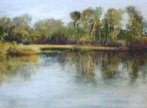 Pastel Painting by Fl artist Carolyn land