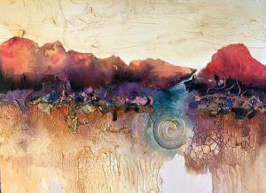 Painting by FL artist Carolyn Land