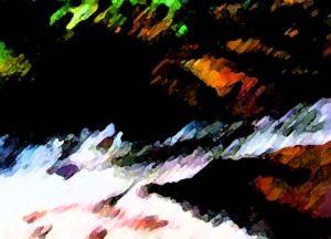 underpainting by FL artist Carolyn Land