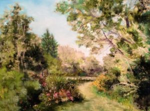 Pasrel painting by FL artist Carolyn Land