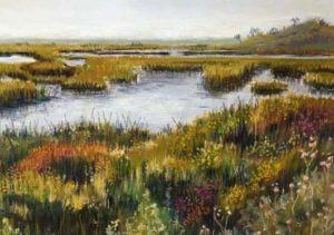 Pastel by Florida Artist Carolyn Land