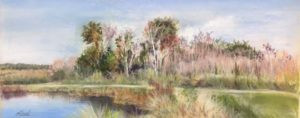 Pasel painting by FL artist Carolyn La\and