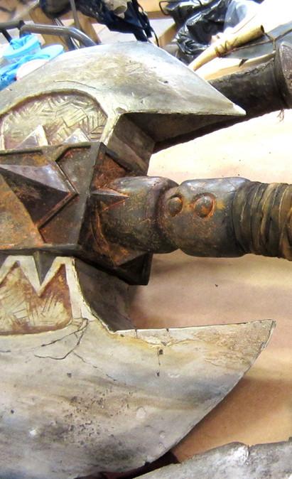 Warcraft. Frostwolf battle axe