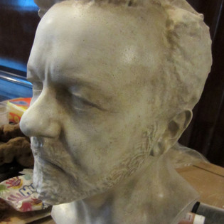 Muppets 2. Marble bust