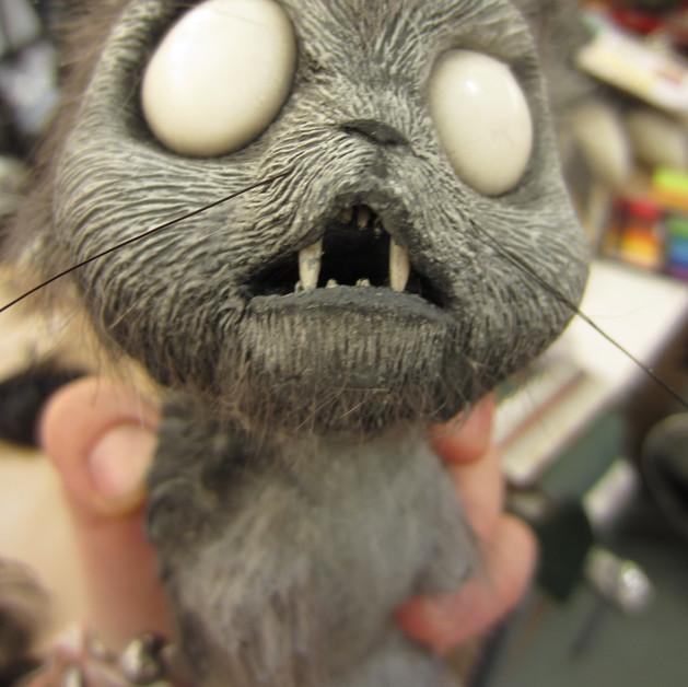 Frankenweenie: Vampire Cat (silicone)