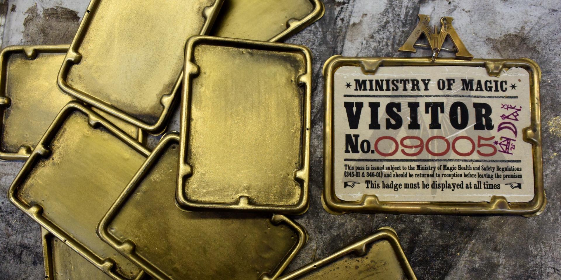 Fantastic Beasts 2. ID cards