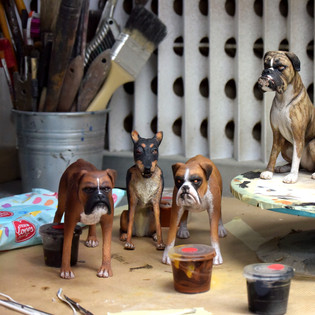 Isle of Dogs: background dogs (silicone)