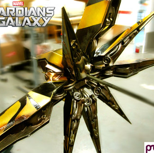 Guardians of the Galaxy: Spaceship Model back