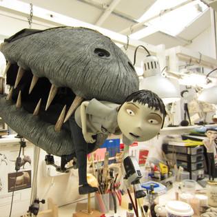 Frankenweenie: Turtle monster mouth (foam latex)