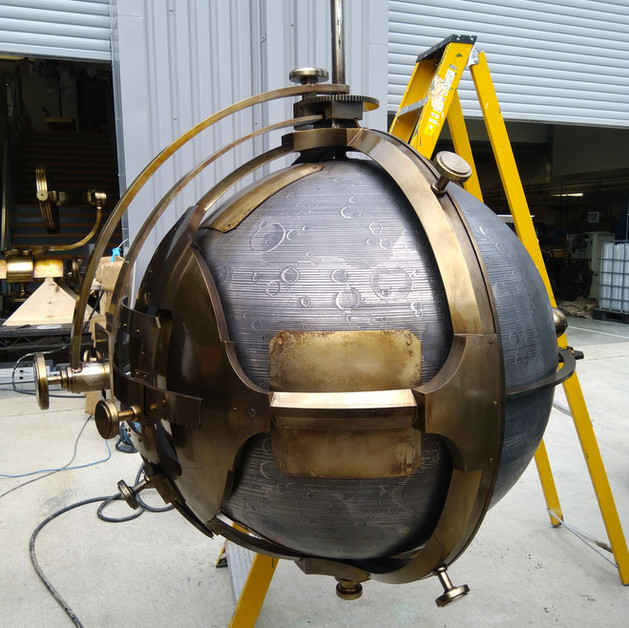 Fantastic Beasts Metallic globe