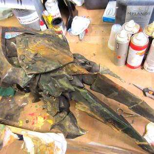Warcraft Orc metal glove