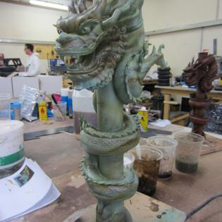 Jade paint effect