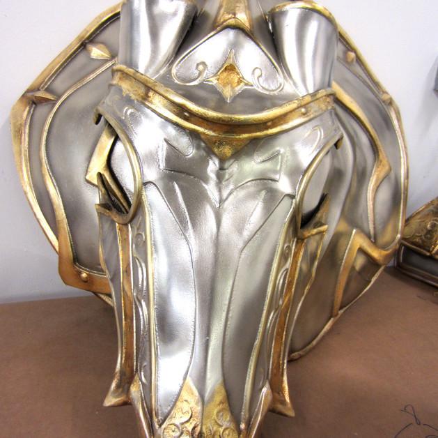 Warcraft King horse armour